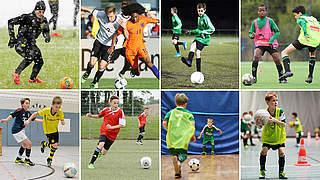 Training auf dem Feld und in der Halle