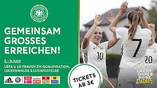 Jetzt Tickets für die EM-Qualifikation in Brandenburg sichern
