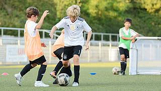 Einfach nur Fußball spielen