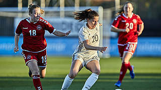 U 19-Frauen spielen 0:0 gegen Dänemark
