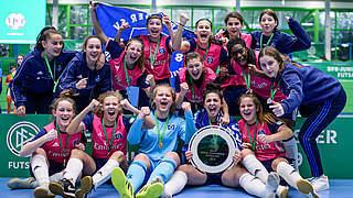 Hamburger B-Juniorinnen gewinnen DFB-Futsal-Cup