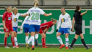 Wolfsburg lässt Potsdam keine Chance