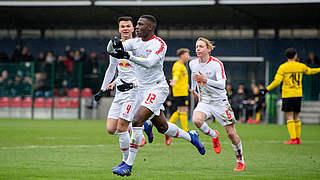 Leipzig und Stuttgart im Pokalendspiel