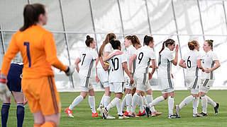 U 17-Juniorinnen bei EM gegen Österreich, England und Niederlande