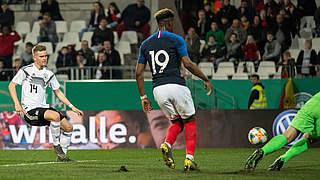 Video: U 21 verpasst Sieg gegen Frankreich