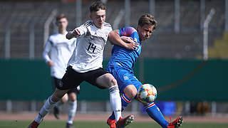 U 17 wieder Remis: 3:3 gegen Island