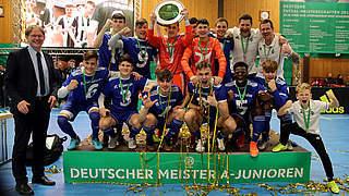 Futsal: Sandhausen und Deisenhofen neue Meister der B- und A-Junioren