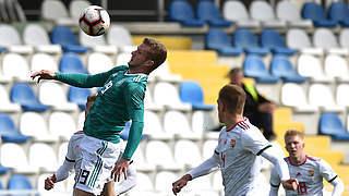Trotz 3:0 gegen Ungarn: U 19 verpasst EM