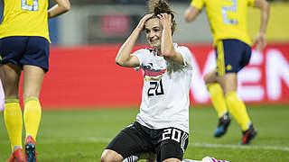Magull ist Spielerin des Schweden-Spiels