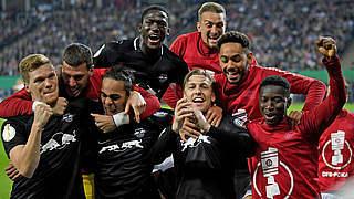 3:1 beim Hamburger SV: RB Leipzig erstmals im DFB-Pokalfinale