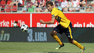 Gelbe Karte für Fortuna Kölns Spieler Eberwein annulliert