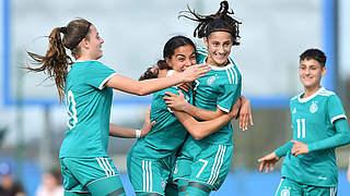 U 15-Juniorinnen gewinnen in Tschechien