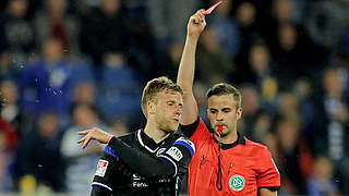 Ein Spiel Sperre für Bielefelds Behrendt