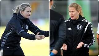 Friederike Kromp und Kathrin Peter sind neue U-Trainerinnen