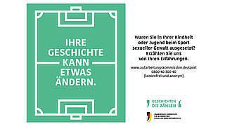 Aufarbeitung sexuellen Kindesmissbrauchs: DFB unterstützt Aufruf