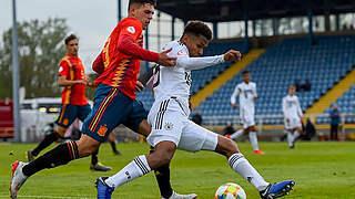 0:1 gegen Spanien: EM-Aus für die U 17