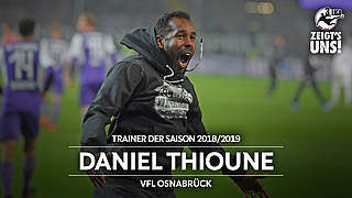 Daniel Thioune ist Trainer der Saison