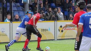 FC Schalke 04 überrascht beim Auftakt der Blindenfußball-Bundesliga
