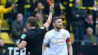 Zwei Spiele Sperre für Düsseldorfs Bodzek