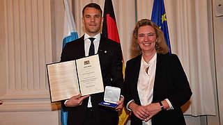 Hohe Auszeichnung für Neuer und Hartwig