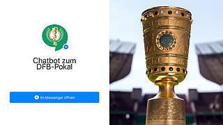 Interaktiver Chatbot: Noch zwei Tickets fürs Pokalfinale gewinnen