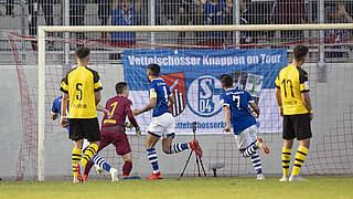 Halbfinale im Video: Schalke rettet spätes Remis gegen BVB