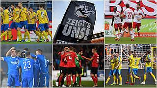 Dramatischer Abstiegskampf in der 3. Liga
