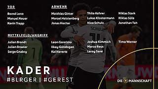 Löw und Kuntz nominieren Kader für EM-Qualifikation und U 21-EM