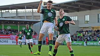 Wolfsburg II legt mit 3:1 gegen Bayern II vor