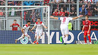 Relegation: Wehen Wiesbaden verliert Hinspiel gegen Ingolstadt