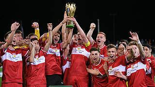 Egloff schießt VfB Stuttgart zum Pokalsieg