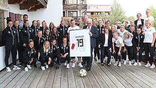 Steinmeier vor WM: Spielerinnen sind zum Vorbild geworden