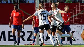 Video: 2:0 gegen Chile im letzten WM-Test