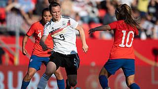 Hegering ist Spielerin des Chile-Spiels