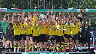 5:3 nach 1:3! BVB zum achten Mal Deutscher A-Junioren-Meister