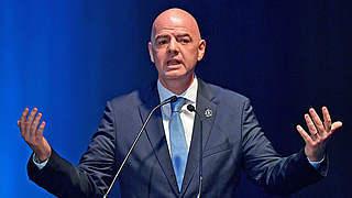 DFB unterstützt Wiederwahl von FIFA-Präsident Infantino