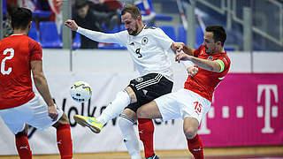 Ex-Profi Fischer vor Futsal-Finale: Chancen stehen 50:50