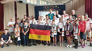 Deutschland-Fans verschenken Tickets an Kindererholungszentrum