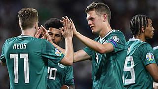 Ginter ist Spieler des Belarus-Spiels