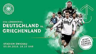 Tickets fürs Länderspiel gegen Griechenland