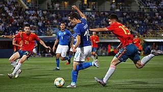 U 21-EM: Chiesa führt Italien zum Auftaktsieg gegen Spanien
