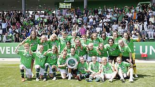 VfL Wolfsburg verteidigt den Meistertitel