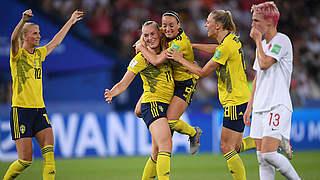 Wiedersehen: DFB-Frauen treffen im WM-Viertelfinale auf Schweden