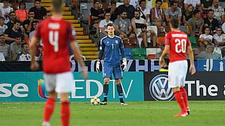 Nübel ist Spieler des Österreich-Spiels