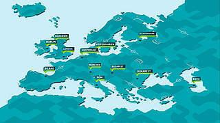 UEFA EURO 2020: Fußballfest in zwölf europäischen Städten