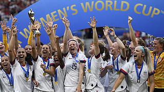 USA gewinnen vierten WM-Titel