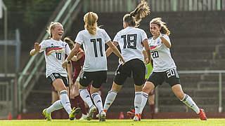 U 16-Juniorinnen holen Turniersieg beim Nordic Cup