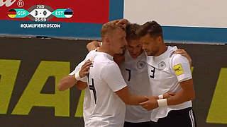 WM-Qualifikation: Nach Sieg gegen Estland im Achtelfinale