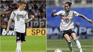 Marozsan und Reus Fußballerin und Fußballer des Jahres