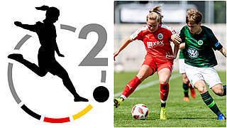 Neu in 2. Frauen-Bundesliga: Alle Spiele live